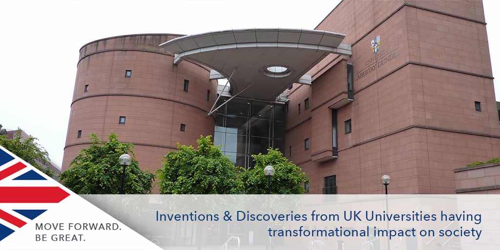 Inventions & Discoveries from UK Universities